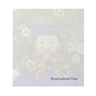 Van Gogh | Portrait of Postman Joseph Roulin II Notepad