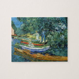 Van Gogh Rowing Boats on the Banks of the Oise Jigsaw Puzzle