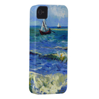 Van Gogh Seascape iPhone 4 Case-Mate Case