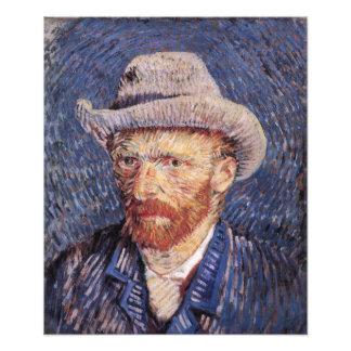 Van Gogh Self-Portrait with Felt Hat Art Photo