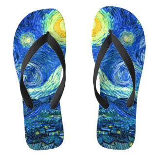 Van Gogh Starry Night Jandals