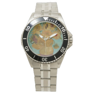 Van Gogh Sunflowers Wrist Watches