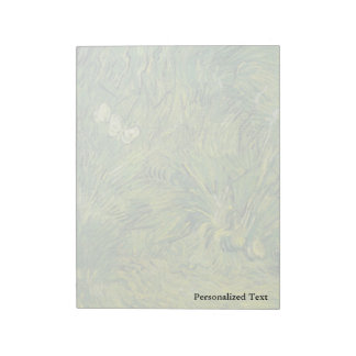 Van Gogh | Two White Butterflies Notepad