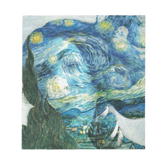 Van Gogh Venus Notepad