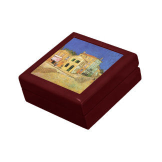 Van Gogh Vincent's House in Arles, Fine Art Gift Box