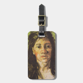 Van Gogh | Woman with her Hair Loose Luggage Tag