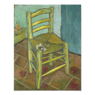Van Gogh's Chair by Vincent Van Gogh Photo Print