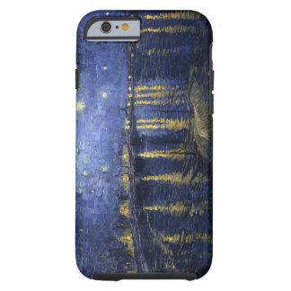 Van Gogh's Starry Night Over the Rhone iPhone 6 ca Tough iPhone 6 Case