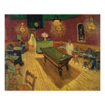 Van Gogh's The Night Café (Le Café de nuit) 1888 Poster