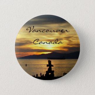 Vancouver Canada Souvenir Buttons Landmark Gifts