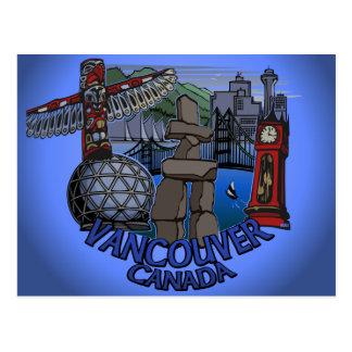 Vancouver Souvenir Postcards Inukshuk Landmark Art