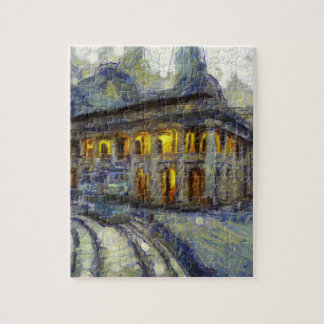 vangogh hong kong court jigsaw puzzle