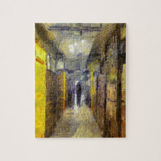 vangogh hong kong public housing jigsaw puzzle