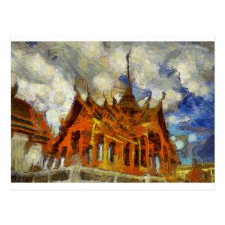 vangogh Thailand GrandPalace Postcard