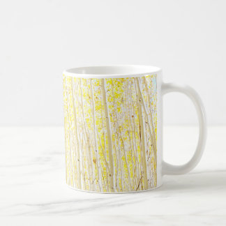 Vanilla Cake Aspen Trees Coffee Mug