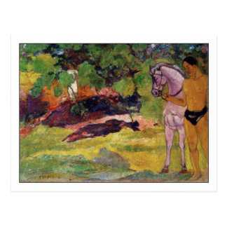 Vanilla Grove by Paul Gauguin Postcards