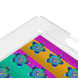 VANITY PERFUME Tray Artistic Acrylic Color Shades