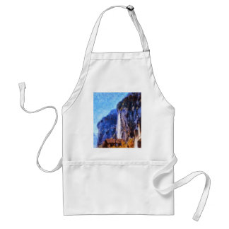 Vantage point for view standard apron