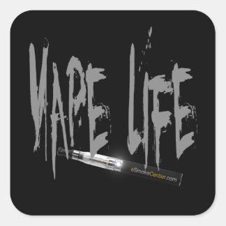 Vape Life Square Stickers