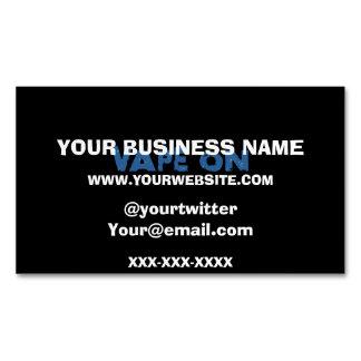 Vape On Grunge Magnetic Business Card