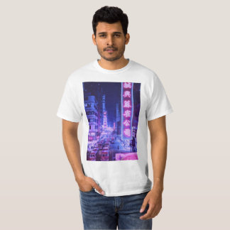 Vaporwave Night City T-shirt
