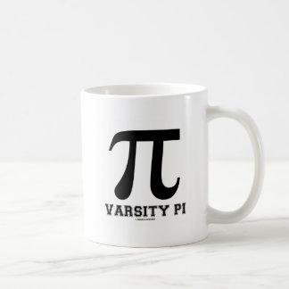 Varsity Pi (Pi Mathematical Constant) Classic White Coffee Mug
