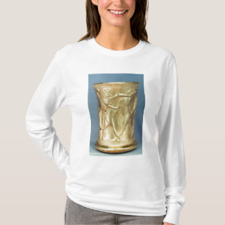 Vase decorated with mythological creatures, Persia T-Shirt