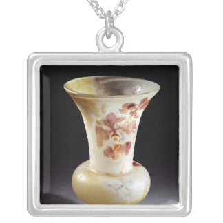 Vase Silver Plated Necklace