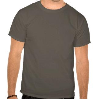 """Vase"" White & Silver Pinstripe T-Shirt"