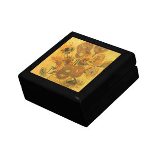 Vase with 15 Sunflowers by Vincent van Gogh Gift Box