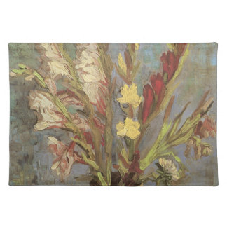 Vase with Gladioli by Vincent van Gogh Placemat
