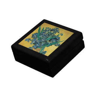 Vase with Irises by Vincent van Gogh, Vintage Art Gift Box