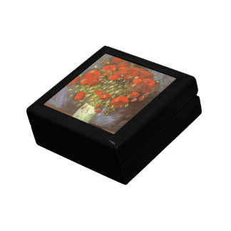 Vase with Red Poppies by Vincent van Gogh Gift Box