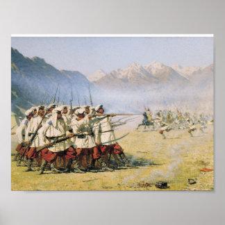 Vasily Vereshchagin ,  War, The fortress and Good Poster