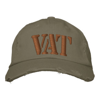 VAT EMBROIDERED HAT