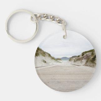 Vatersay Beach Key Ring
