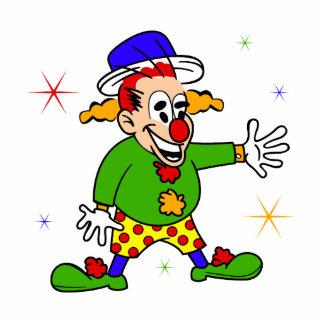 Vaudville Clown Man Cut Out
