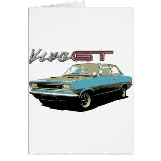 Vauxhall Viva GT Card