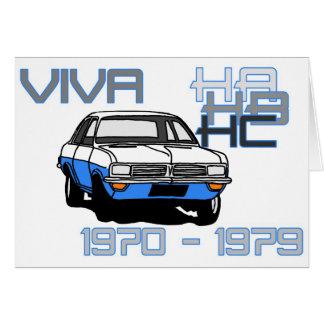 Vauxhall Viva HC Card