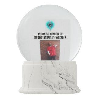 VBH In Loving Memory Of Animal Snow Globe Snow Globes