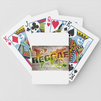 VCVH Reggae Image Bicycle Playing Cards