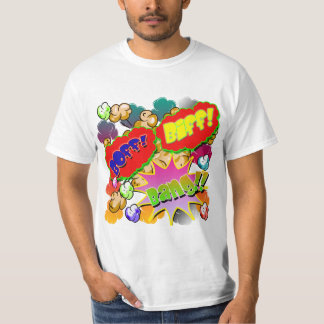 Vector Comic Book Biff! Boff! Bang!! T-Shirt