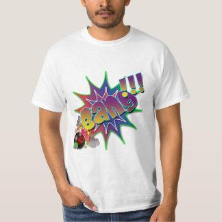Vector - Comic Book Explosion Bang T-Shirt