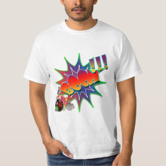 Vector - Comic Book Explosion BOOM T-Shirt