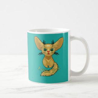 Vector illustration of cute Fox. Fun nice animal Coffee Mug
