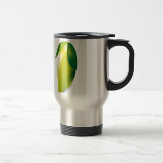 Vector lemon design travel mug