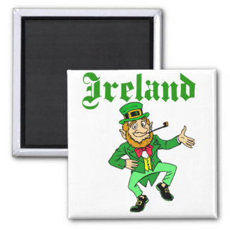Vector - Leprechaun Ireland Magnet