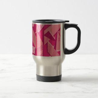 Vector Pink pattern Travel Mug