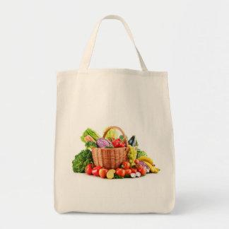 veg basket tote bag