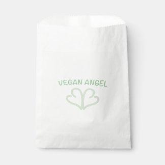 """""""VEGAN ANGEL"""" FAVOUR BAGS"""